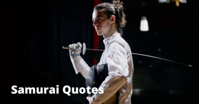 Samurai Quotes featured