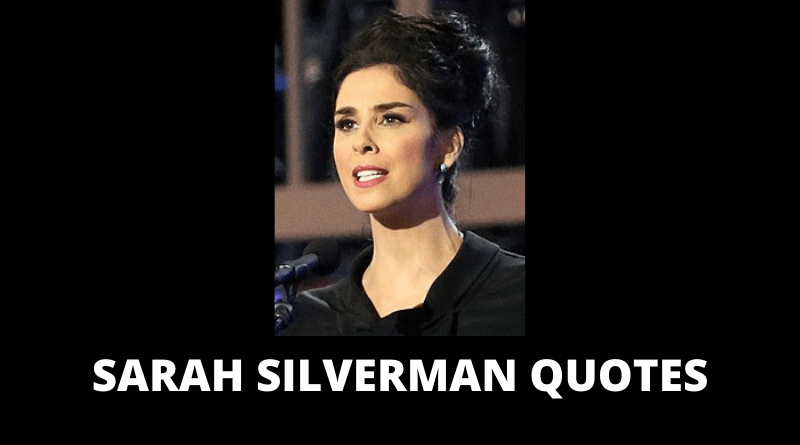 Sarah Silverman quotes featured
