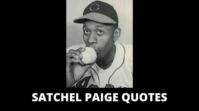 Satchel Paige quotes featured