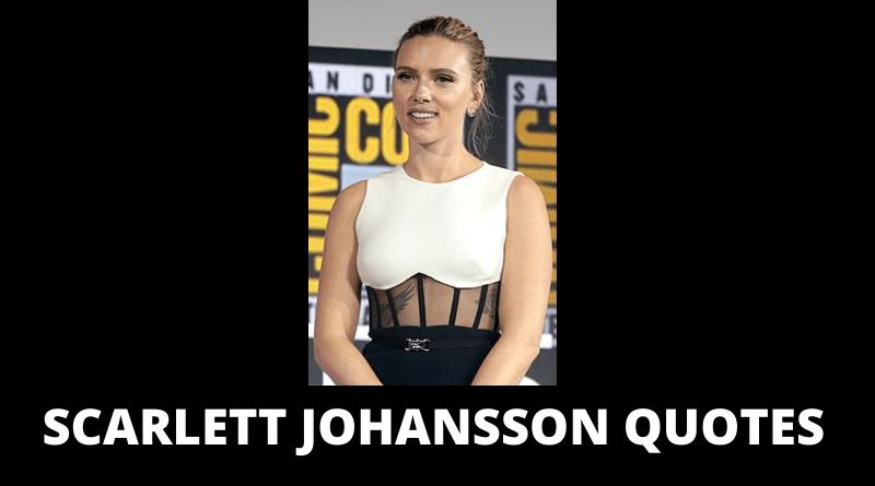 Scarlett Johansson Quotes Featured