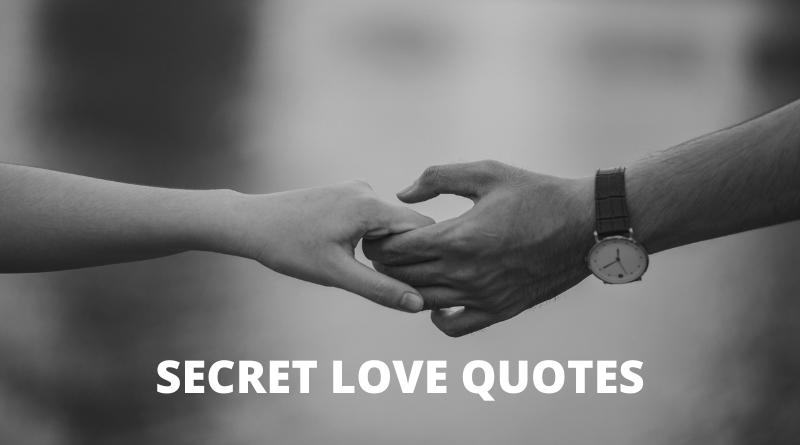 Secret Love Quotes featured