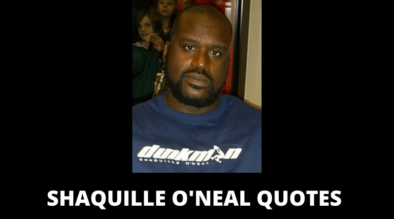 Shaquille O'Neal Quotes featured