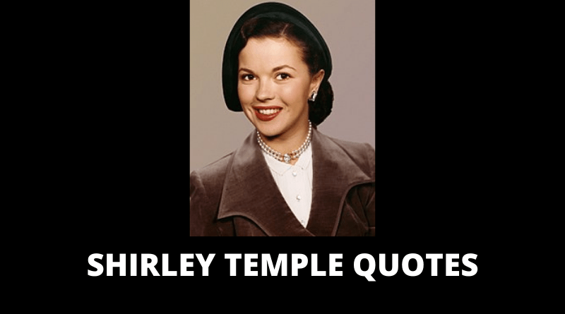 Shirley Temple quotes featured