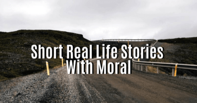Short Real Life Stories With Moral featured