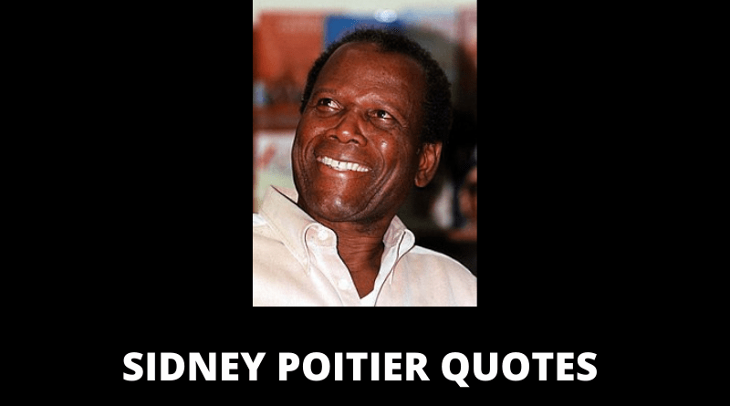 Sidney Poitier quotes featured