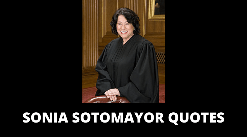 Sonia Sotomayor quotes featured