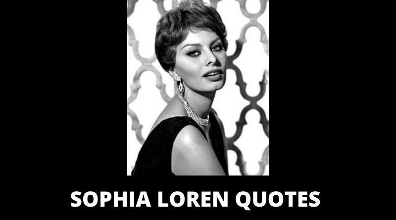 Sophia Loren quotes featured