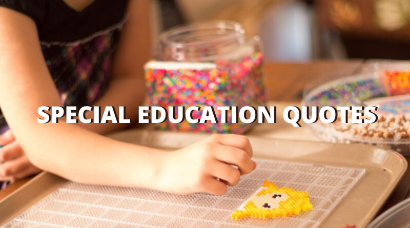 Special Education quotes featured