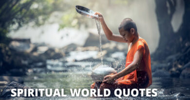 Spirit World Quotes Featured