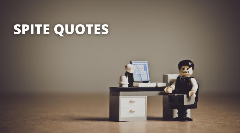 Spite Quotes Featured