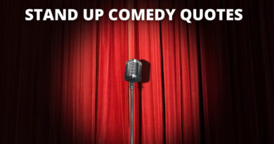 Stand Up Comedy Quotes Featured