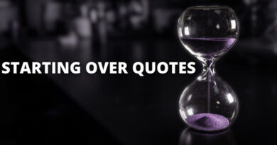 Starting Over Quotes Featured