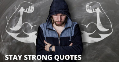 Stay Strong Quotes Featured