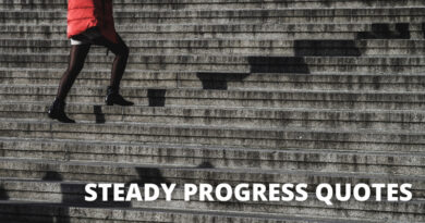 Steady Progress Quotes Featured