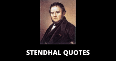 Stendhal quotes featured
