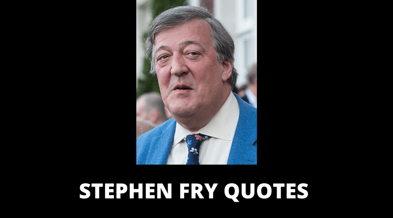 Stephen Fry Quotes featured