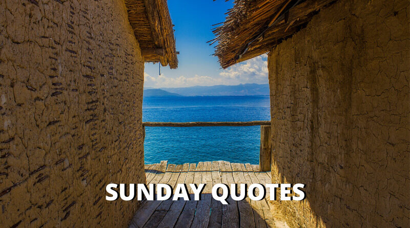 Sunday Quotes Featured