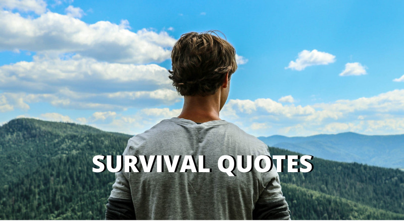 Survival Quotes featured