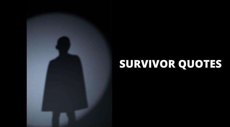 Survivor quotes featured