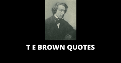 T E Brown quotes