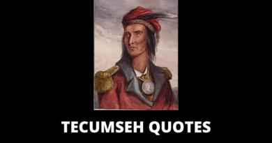 Tecumseh quotes featured