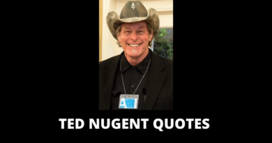 Ted Nugent quotes featured