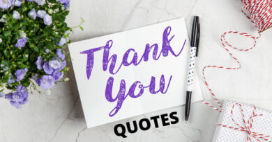 Thank You Quotes Featured