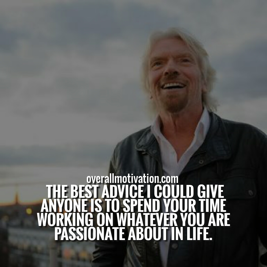 Favoriete Richard Branson Quotes On Employees, Work & Life | OverallMotivation &PH05