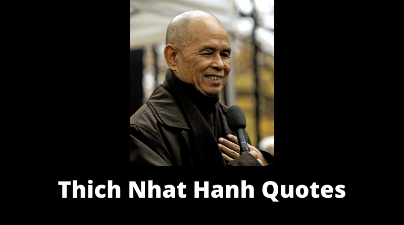 Thich Nhat Hanh Quotes featured
