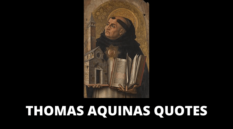 Thomas Aquinas Quotes featured
