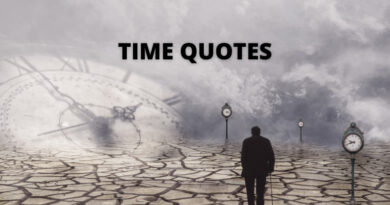Time Quotes Featured