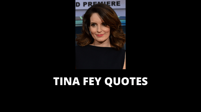 Tina Fey Quotes featured