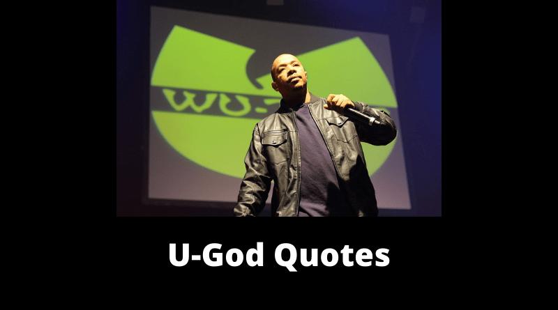 U-God Quotes featured