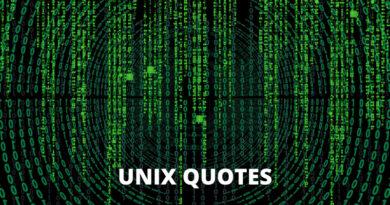UNIX Quotes featured