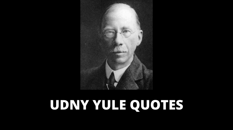 Udny Yule Quotes featured