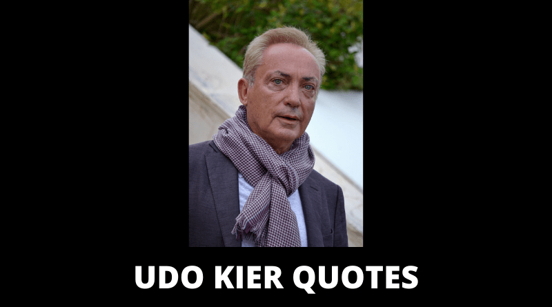 Udo Kier Quotes featured
