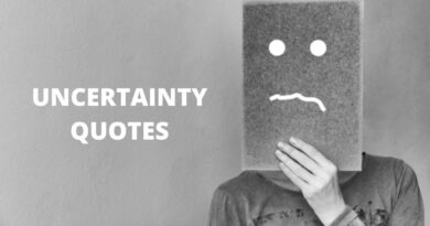 Uncertainty Quotes featured
