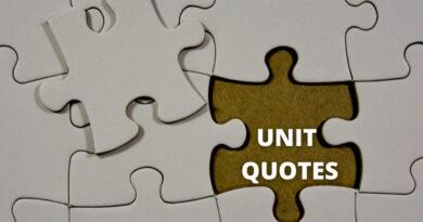 Unit Quotes featured