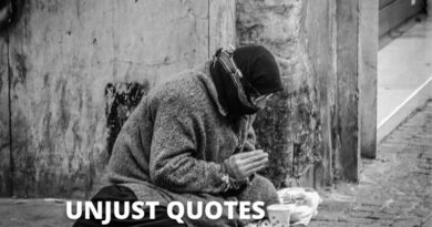 Unjust Quotes featured