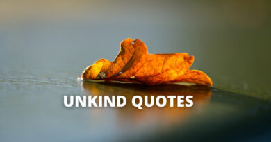 Unkind Quotes featured