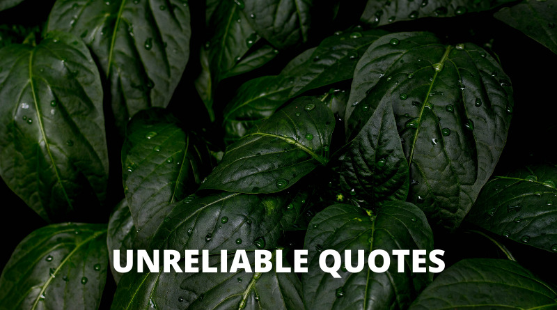 Unreliable Quotes featured