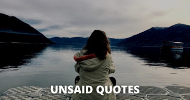 Unsaid Quotes featured