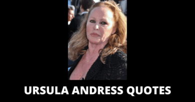 Ursula Andress Quotes featured