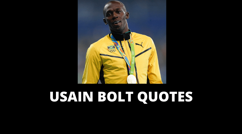 Usain Bolt quotes featured
