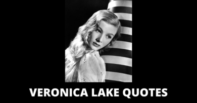 Veronica Lake Quotes featured