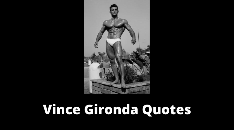 Vince Gironda Quotes featured