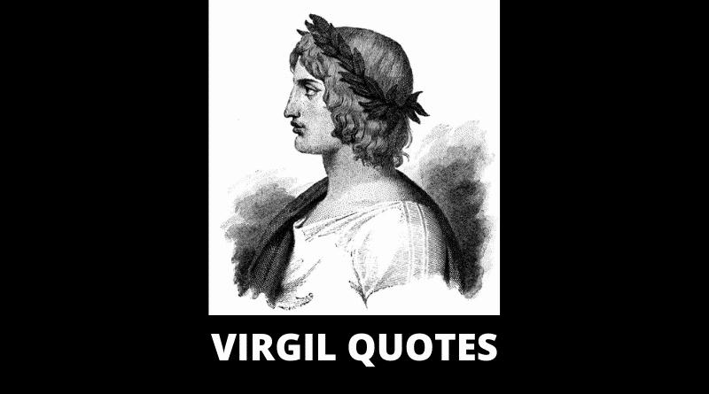 Motivational Virgil Quotes