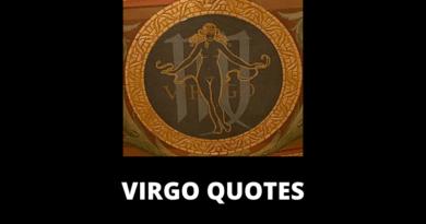 Virgo Quotes Featured