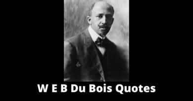 W E B Du Bois Quotes featured