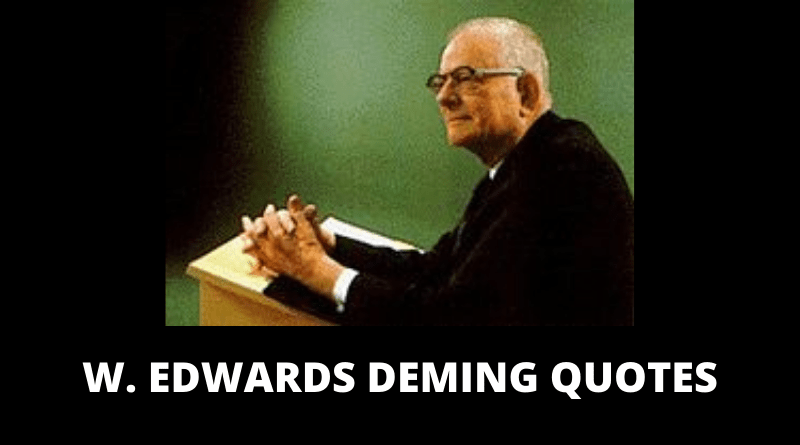 W Edwards Deming quotes featured